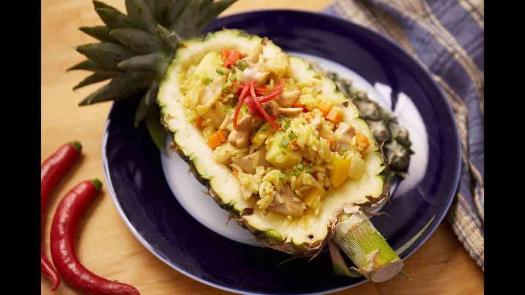 สูตรทำ ข้าวผัดสับปะรด ที่ขึ้นชื่อในภาคใต้บ้านเรา